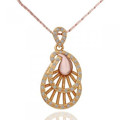 Jenny Jewelry N574 18K Real Gold Pl..
