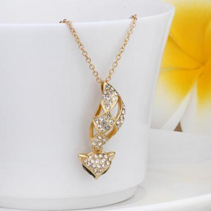 Jenny Jewelry N616 18K Real Gold Pl..