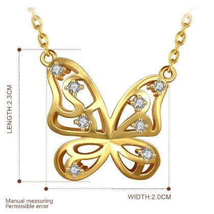 Jenny Jewelry N846-A 18K Real Gold ..