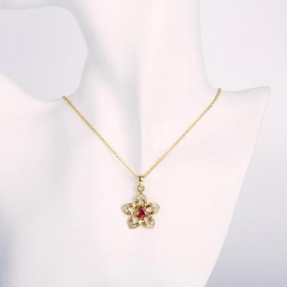 Jenny Jewelry N892-A 18K Real Gold ..