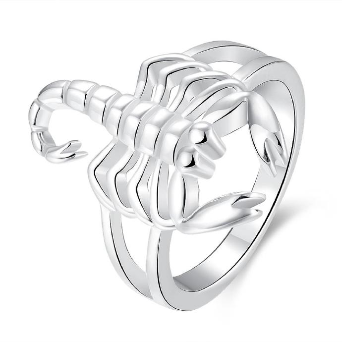Jenny Jewelry R739 Silver Plated New Design Lady Ring