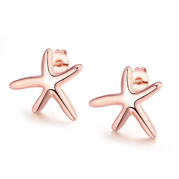 Jenny Jewelry E024 New Fashion Jewelry Real Gold Plated Earring