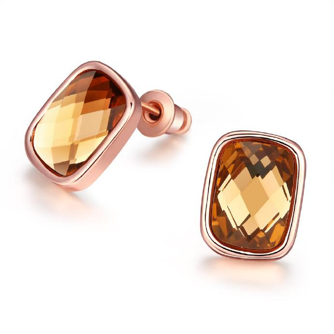 Jenny Jewelry E048 New Fashion Jewelry Real Gold Plated Earring