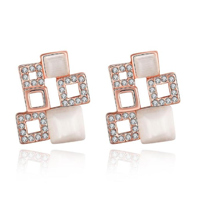 Jenny Jewelry E059 New Fashion Jewelry Real Gold Plated Earring