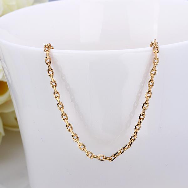 Jenny Jewelry C003 18K gold plated long chain