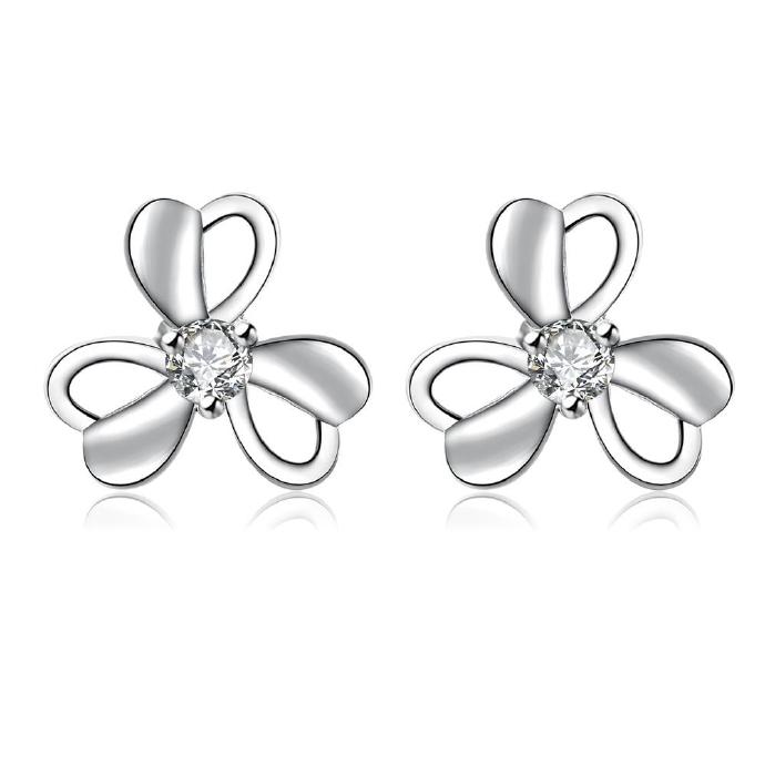 Jenny Jewelry E008 New Fashion New Style Jewelry Silver Plated Earring