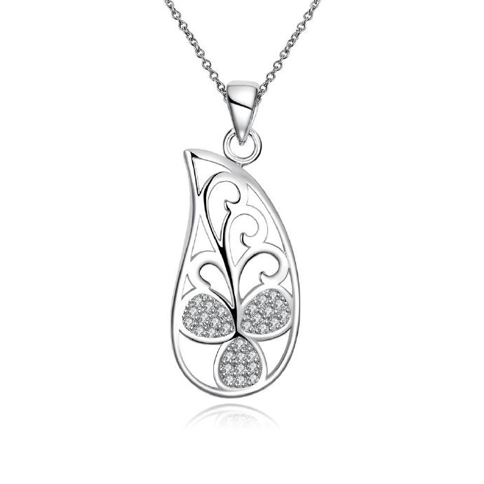 Jenny Jewelry N032 High Quality New Style Fashion Jewelry Silver Plating Necklace