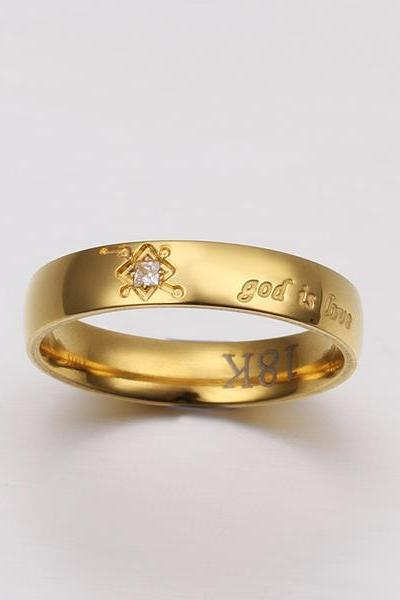 Gold Plated New Design Lady Ring ,Available Size 8