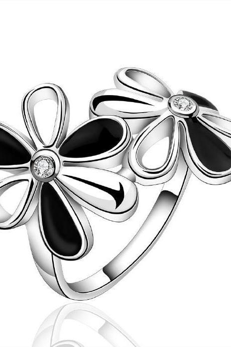 Jenny Jewelry R631 Silver Plated New Design Lady Ring