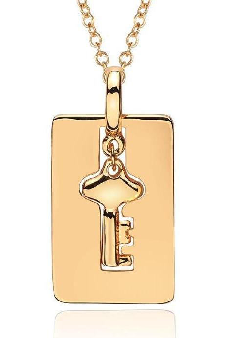 Jenny Jewelry N752 18K Real Gold Plated Necklace pendants New Fashion Jewelry