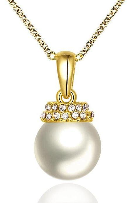 Jenny Jewelry N799-A 18K Real Gold Plated Necklace pendants New Fashion
