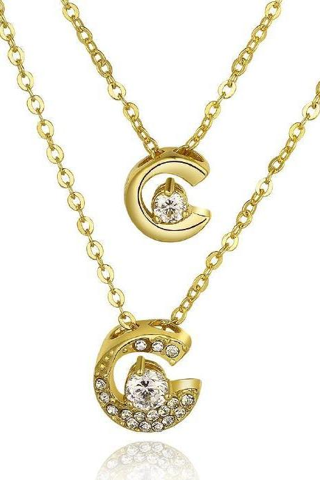 Jenny Jewelry N805-A 18K Real Gold Plated Necklace pendants New Fashion Jewelry