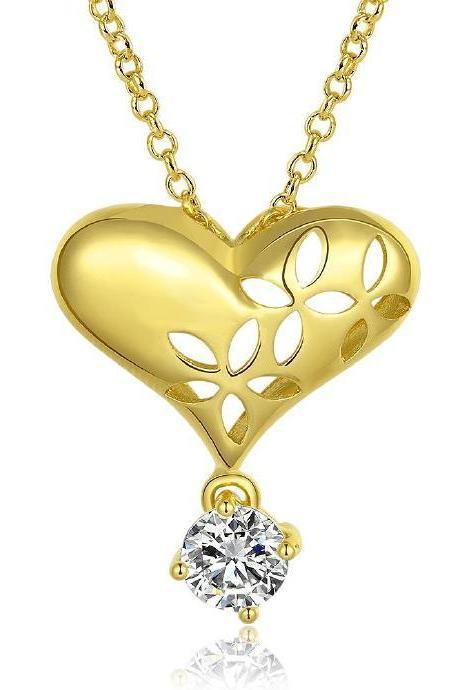 Jenny Jewelry N810-A 18K Real Gold Plated Necklace pendants New Fashion Jewelry