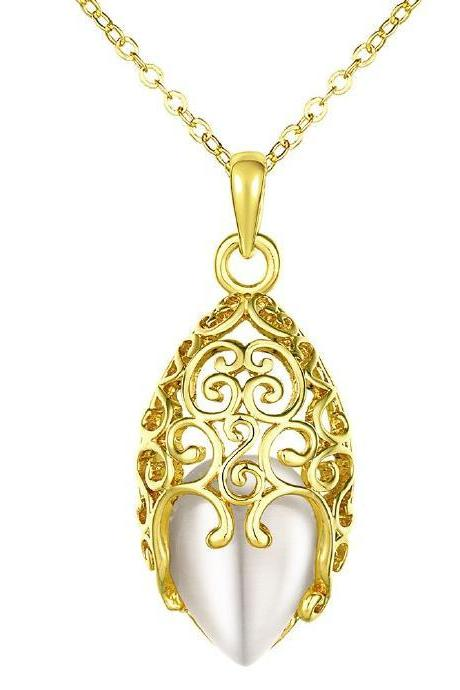 Jenny Jewelry N862-A 24K Real Gold Plated necklaces For Women New Fashion Jewelry
