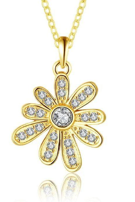Jenny Jewelry N890-A 18K Real Gold Plated Necklace pendants New Fashion Jewelry