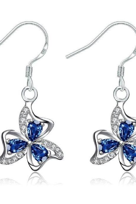 Jenny Jewelry E018-A New Fashion New Style Jewelry Silver Plated Earring