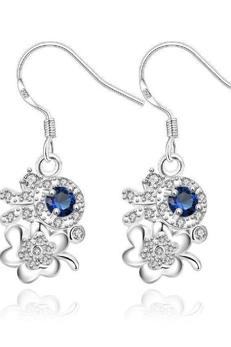 Jenny Jewelry E033-A New Fashion New Style Jewelry Silver Plated Earring