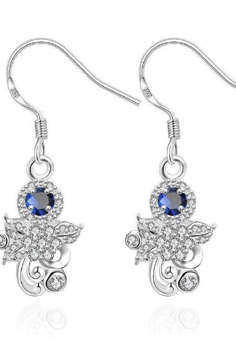 Jenny Jewelry E034-A New Fashion New Style Jewelry Silver Plated Earring