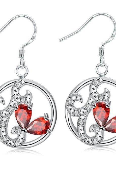 Jenny Jewelry E035-B New Fashion New Style Jewelry Silver Plated Earring