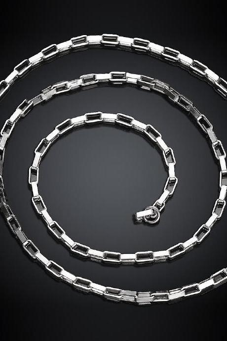 Jenny Jewelry C005 316L stainless steel punk distribution chain