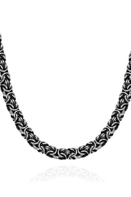 Jenny Jewelry N063 latest design 316L stainless steel fashion Necklace
