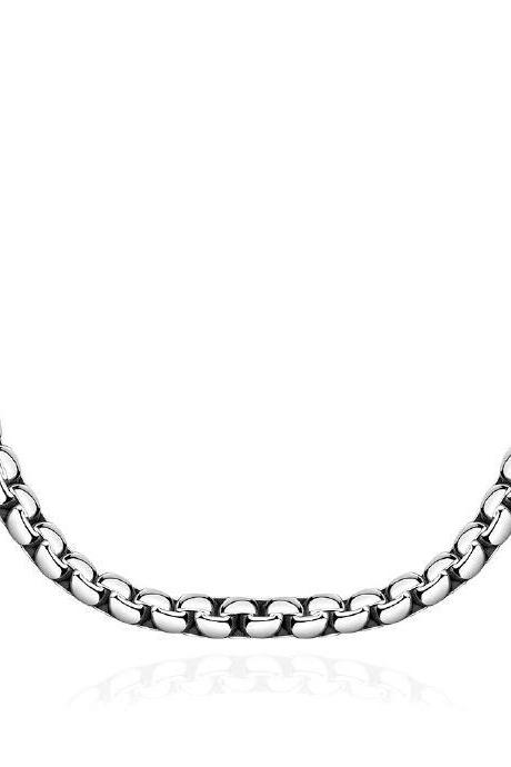 Jenny Jewelry N066 Fine Quality Western 316L stainless steel Necklace For Man