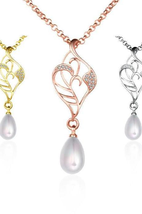 Jenny Jewelry N015-A Latest design tradition pearl necklace