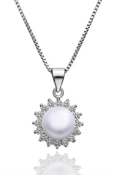 Jenny Jewelry P002 Beautiful pearl pendants