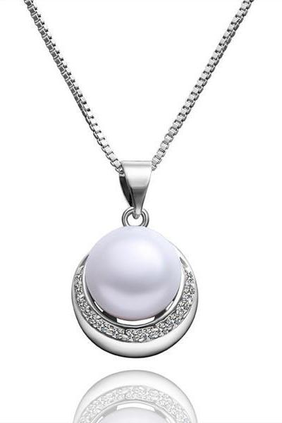 Jenny Jewelry P003 Beautiful pearl pendants