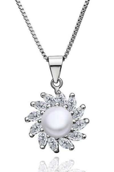 Jenny Jewelry P010 Beautiful pearl pendants