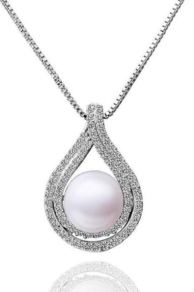 Jenny Jewelry P026 Beautiful pearl pendants