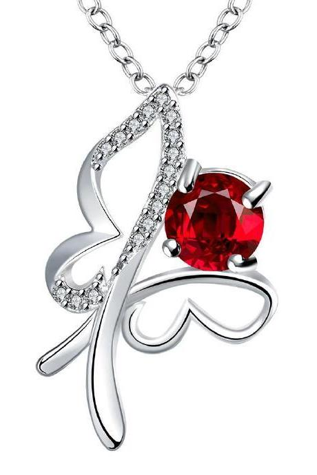 Jenny Jewelry N021-A Silver plated necklace brand new design pendant necklaces jewelry for women