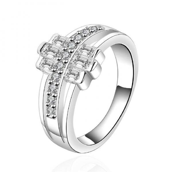 Silver Plated New Design Lady Ring