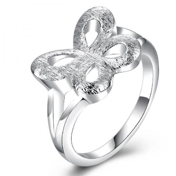 Jenny Jewelry R750 Silver Plated New Design Lady Ring