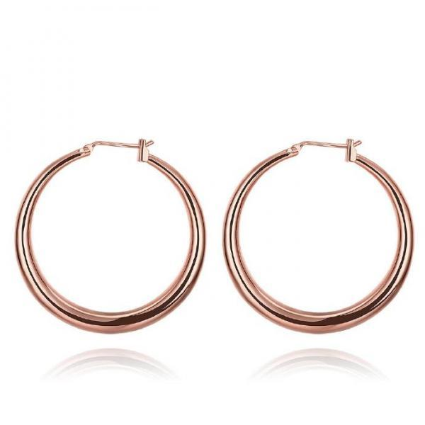 Jenny Jewelry E031-B 18K Gold Plating High Quality Ziccon Fashion Earring
