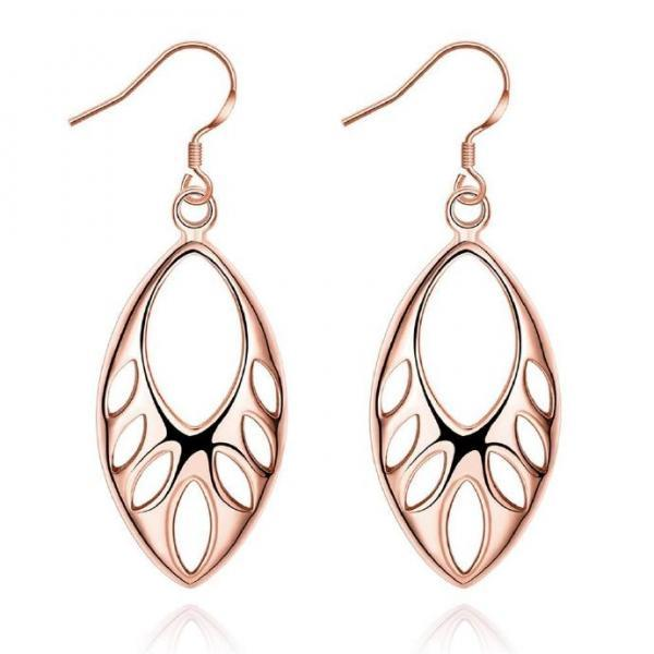 Jenny Jewelry E033-B 18K Gold Plating High Quality Ziccon Fashion Earring