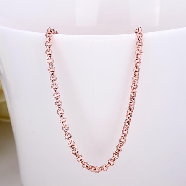 Jenny Jewelry C010 18K gold plated long chain
