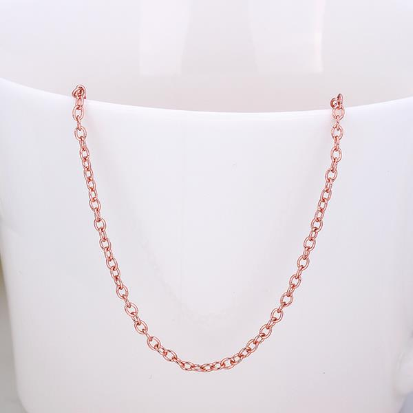 Jenny Jewelry C027 18K gold plated long chain