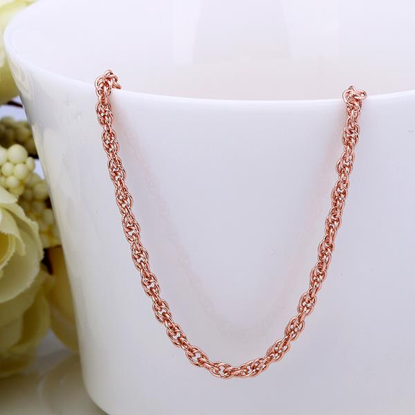 Jenny Jewelry C029 18K gold plated long chain