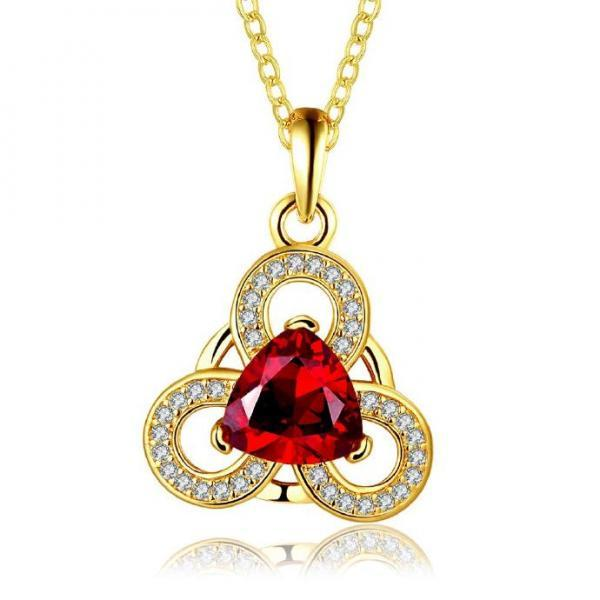Jenny Jewelry N888-A 18K Real Gold Plated Necklace pendants New Fashion Jewelry