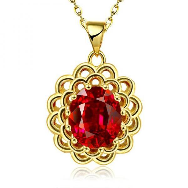 Jenny Jewelry N891-A 18K Real Gold Plated Necklace pendants New Fashion Jewelry