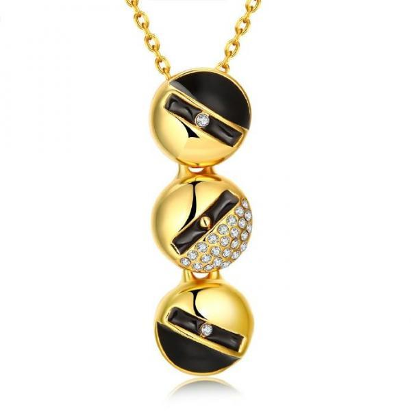 Jenny Jewelry N922-A 18K Real Gold Plated Necklace pendants New Fashion Jewelry