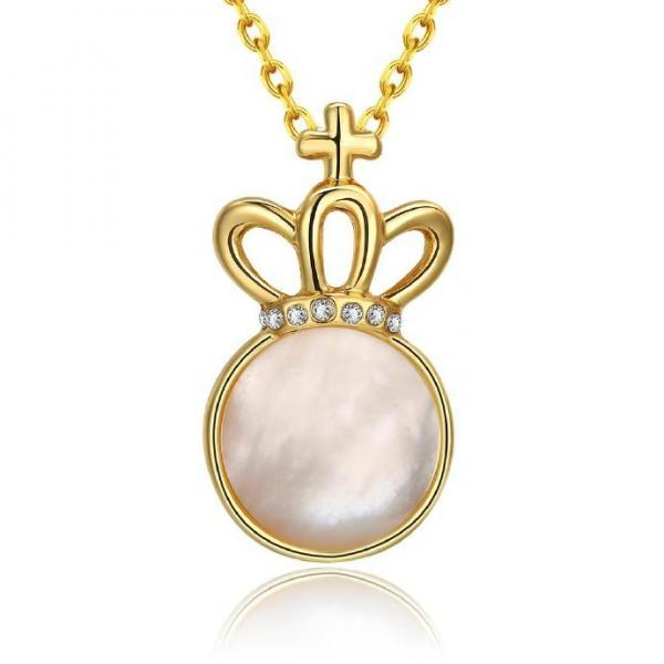 Jenny Jewelry N923-A 18K Real Gold Plated Necklace pendants New Fashion Jewelry