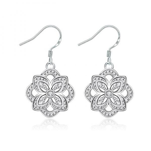 Jenny Jewelry E001 New Fashion New Style Jewelry Silver Plated Earring