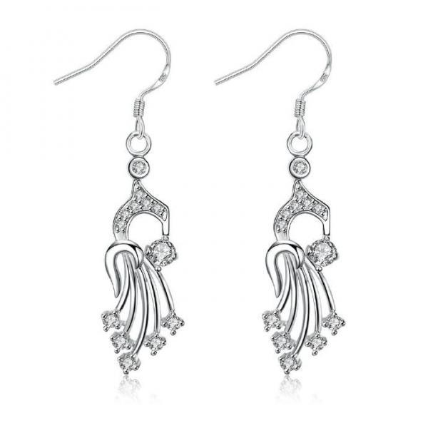 Jenny Jewelry E002 New Fashion New Style Jewelry Silver Plated Earring