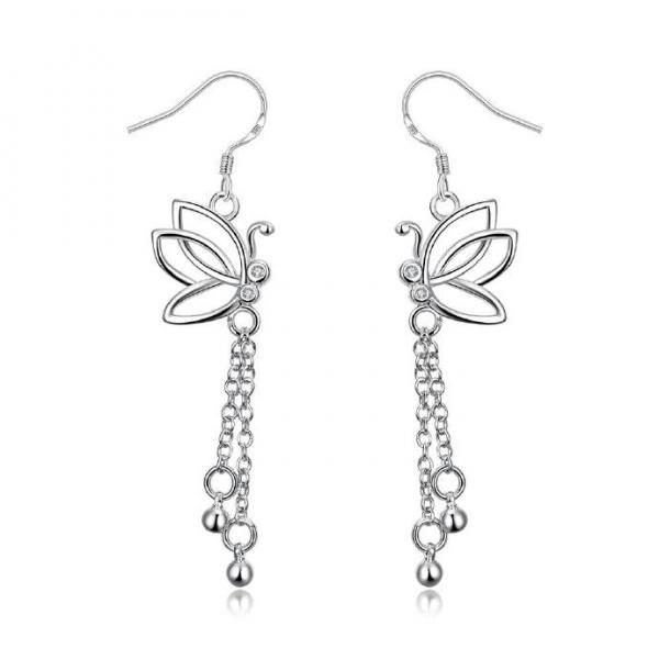 Jenny Jewelry E003 New Fashion New Style Jewelry Silver Plated Earring
