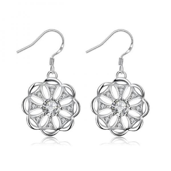 Jenny Jewelry E005 New Fashion New Style Jewelry Silver Plated Earring