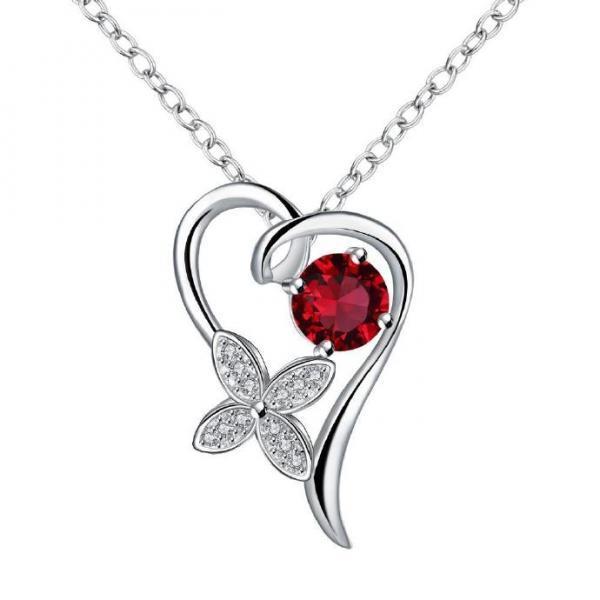 Jenny Jewelry N011-A Silver plated necklace brand new design pendant necklaces jewelry for women
