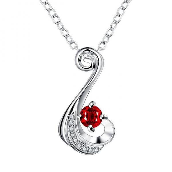 Jenny Jewelry N018-A Silver plated necklace brand new design pendant necklaces jewelry for women