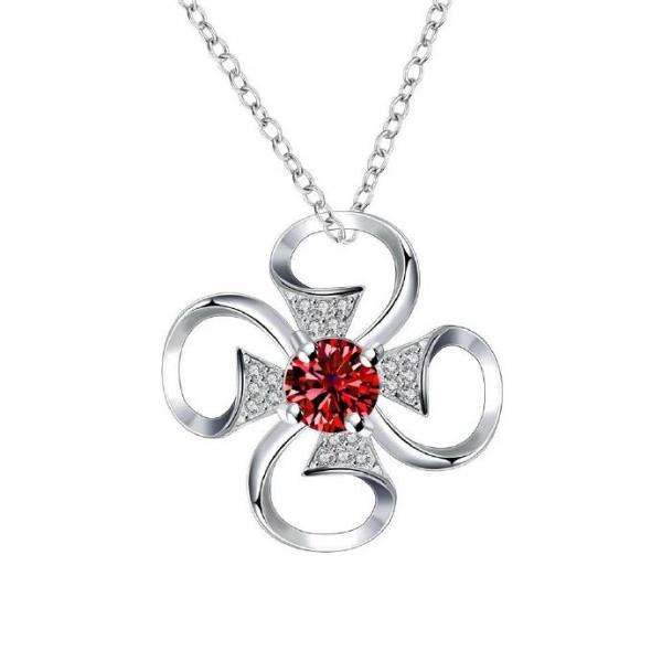 Jenny Jewelry N019-A Silver plated necklace brand new design pendant necklaces jewelry for women